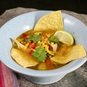 Chicken Tortilla Soup | Something New For Dinner