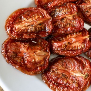 Slow-Roasted Tomatoes & Garlic | Something New For Dinner
