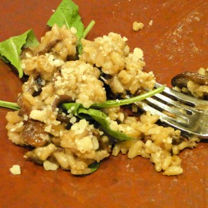 Mushroom Risotto | Something New For Dinner