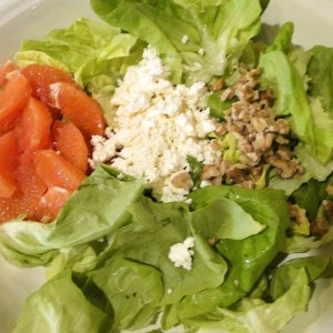 Orange Butter Lettuce Salad | Something New For Dinner
