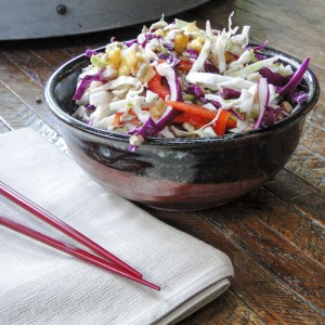Asian-Style Coleslaw | Something New For Dinner