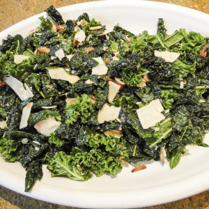 Kale Salad With Dates And Almonds | Something New For Dinner