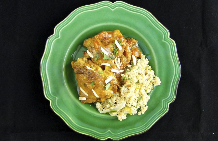 Chicken And Apricot Tagine | Something New For Dinner