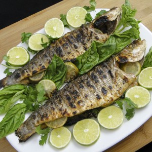 Grilled Branzino With Lime And Herbs   Something New For Dinner