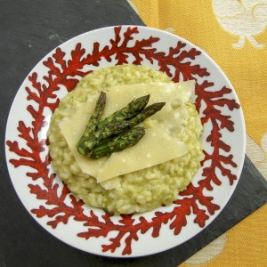Asparagus Risotto | Something New For Dinner
