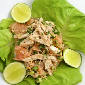 Thai Pomelo And Chicken Salad | Something New For Dinner