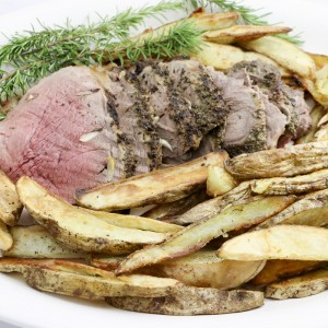 Roast Leg Of Lamb And Potatoes | Something New For Dinner