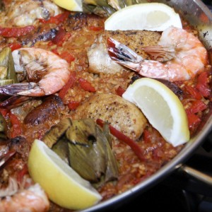Paella With Artichokes & Chicken | Something New For Dinner