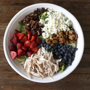 Chicken, Berry, & Walnut Salad | Something New For Dinner