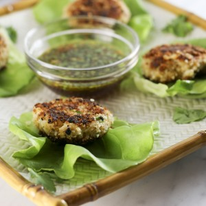 Crab Cakes With Asian Dipping Sauce | Something New For Dinner