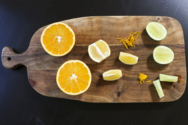 Citrus Zest + Juice | Something New For Dinner