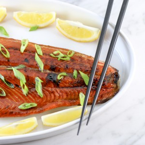 Teriyaki Salmon | Something New For Dinner