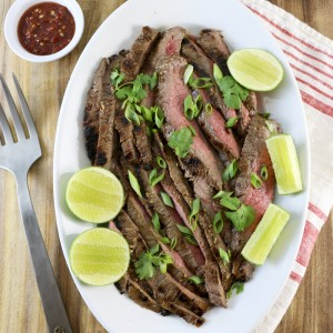 Thai-Style Grilled Flank Steak | Something New For Dinner