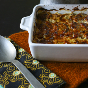 Butternut Squash & Cauliflower Gratin | Something New For dinner