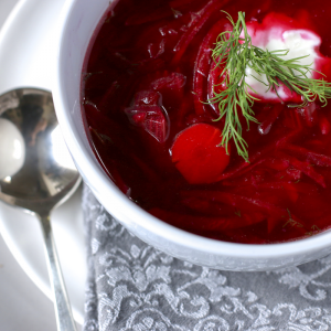Simple Borscht | Something New For Dinner
