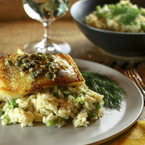 Chilean Sea Bass With Lemon Sauce | Something New For Dinner