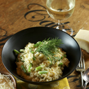 Risotto With French Beans & Dill | Something New For Dinner