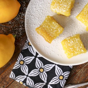 Lemon Bars With Salt & Olive Oil | Something New For Dinner