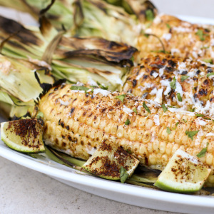 Grilled Mexican Corn | Something New For Dinner