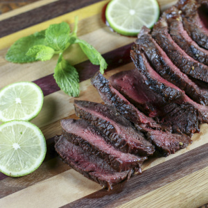 Ginger, Garlic & Bourbon Steak | Something New For Dinner