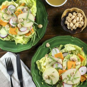 Apple, Radish & Marcona Almond Salad | Something New For Dinner