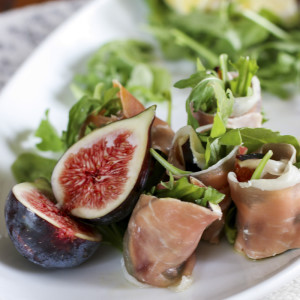 Easy and delicious no-cook, gluten-free, fig appetizers that can be made in advance.