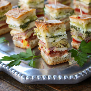 Italian Pressed Brick Sandwich | Something New For Dinner