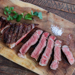 The easiest, most foolproof, perfectly cooked steaks you will ever make. Slow cook them in the oven then sear on the grill or on the stovetop to finish.
