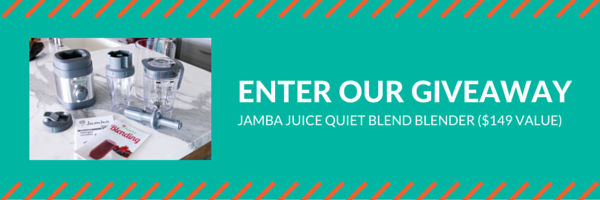 Jamba Juice Blender Giveaway