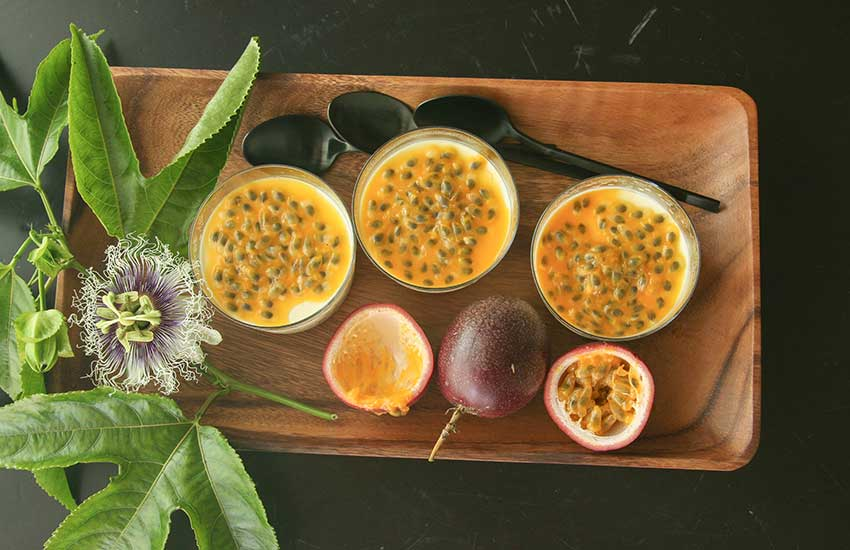 Passion fruit panna cotta something new for dinner - Panna cotta herve cuisine ...